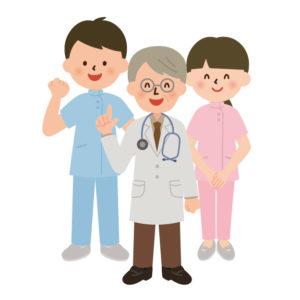 赤ちゃん連れで病院に行くと医師や看護師さんが親切に対応してくれます。