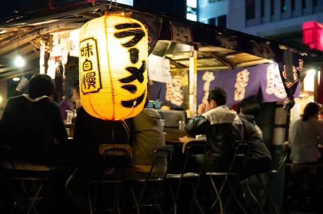 新横浜ラーメン博物館のラーメン屋さんイメージ