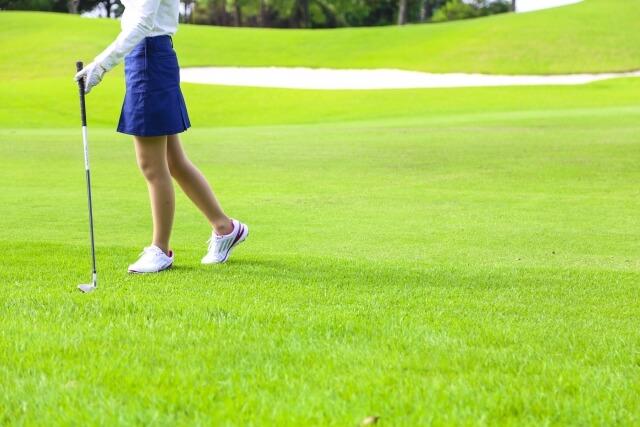 西郷真央 ゴルフウェア